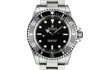 1999 Rolex Submariner 14060 photo