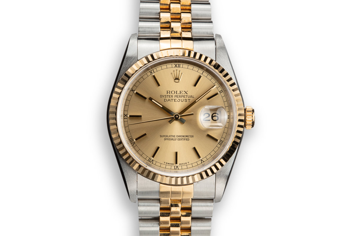 1995 Rolex Two-Tone DateJust 16233 photo, #0