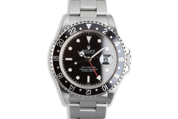 """1999 Unpolished Rolex GMT-Master 16700 """"Swiss Only"""" photo"""