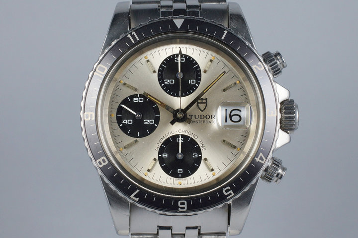 1981 Tudor Big Block 94210 Silver Dial photo