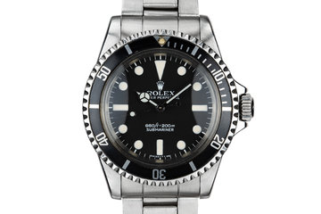 1966 Rolex Submariner 5513 with MK I Maxi Dial photo