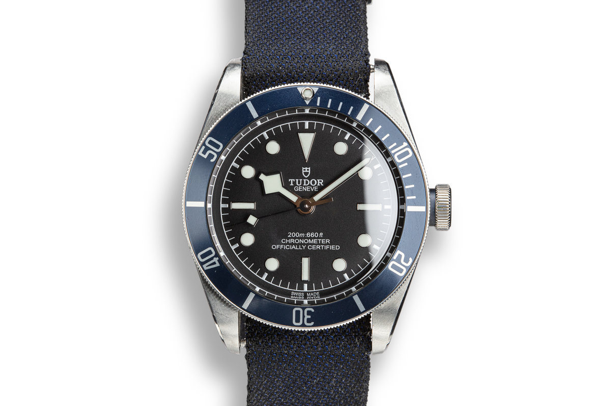 2018 Tudor Black Bay 79238 Blue Bezel with Box and Papers photo, #0