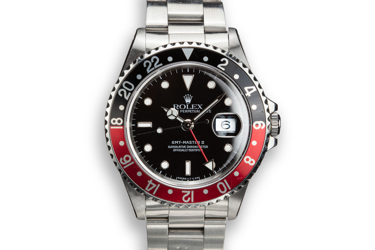 "1995 Rolex GMT-Master II 16710 ""Coke"" with Papers and Service Papers photo, #0"