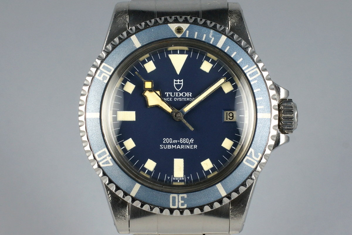 1981 Tudor Submariner 94110 Blue Snowflake photo, #0