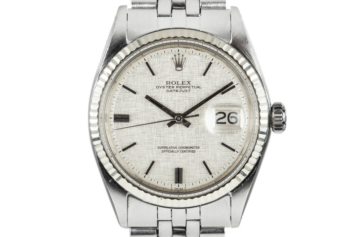 1970 Rolex DateJust 1601 with Linen Dial photo