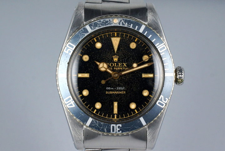 1958 Rolex Submariner 5508 Exclamation Dial photo