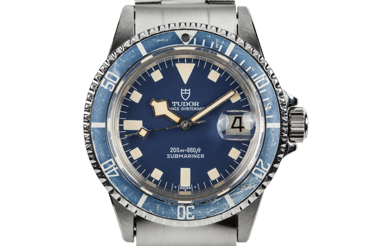 1981 Tudor Submariner 94110 with Blue Snowflake Dial photo, #0
