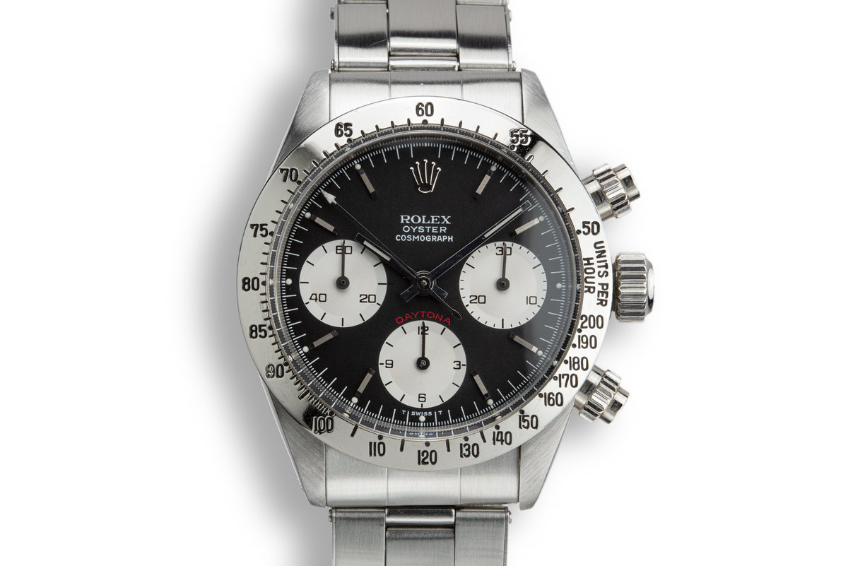 1976 Rolex Daytona 6265 with Black Service Dial photo, #0