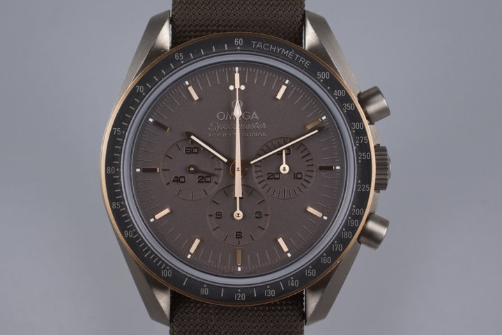2014 Omega Speedmaster Professional Apollo 11 45th Anniversary 311.624.230.060.01 w/ Box and Paper photo