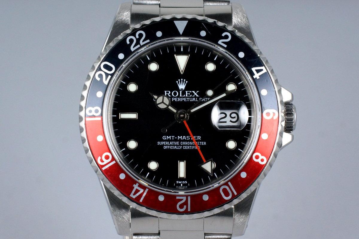 1991 Rolex GMT 16700 Service Dial photo, #0