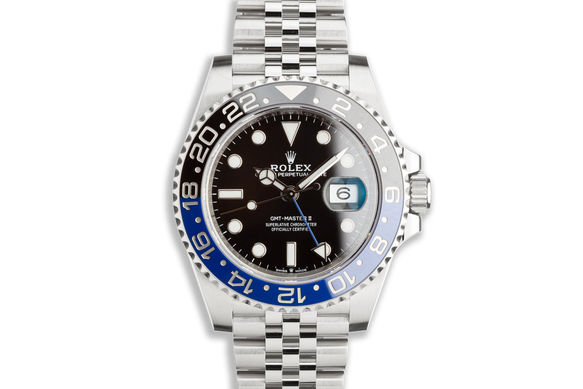 """2020 Rolex GMT-Master II 126710BLNR """"Batman"""" with Box and Card photo, #0"""