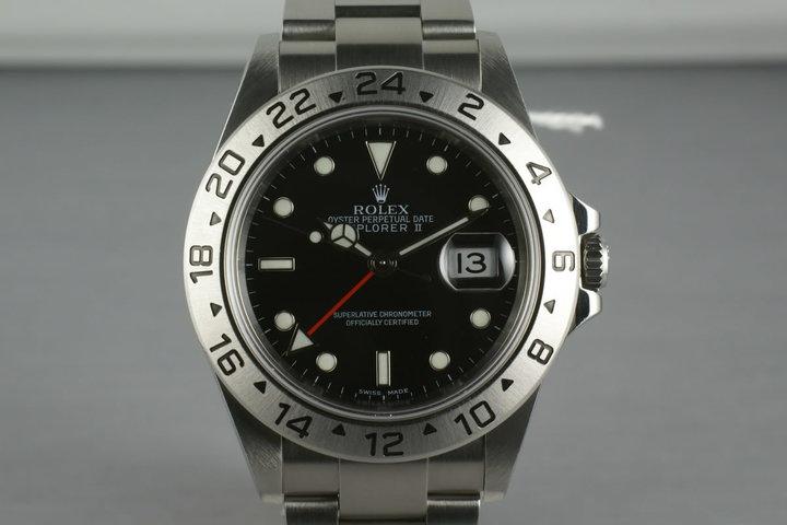 Rolex Explorer II 16570 photo