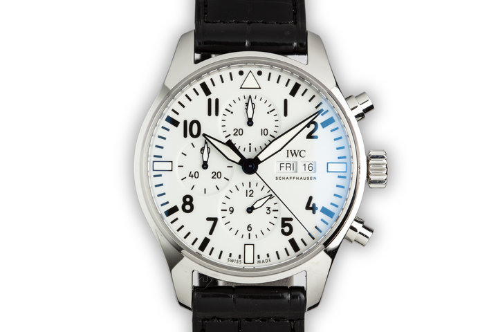 2018 IWC Pilot Chronograph 150 Anniversary Limited model IW377725 photo