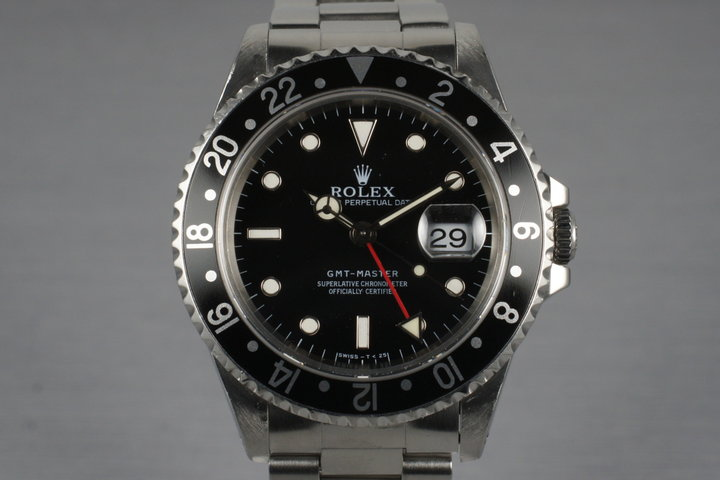 1997 Rolex GMT 16700 with Box and Papers photo