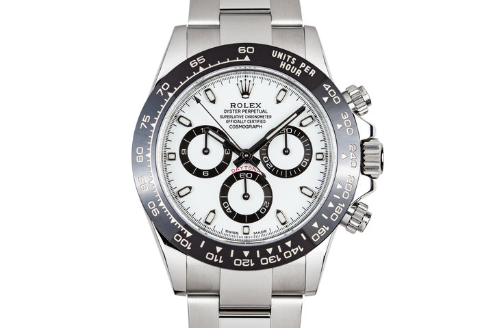2018 Rolex Ceramic Daytona 116500LN White Dial with Box and Papers photo