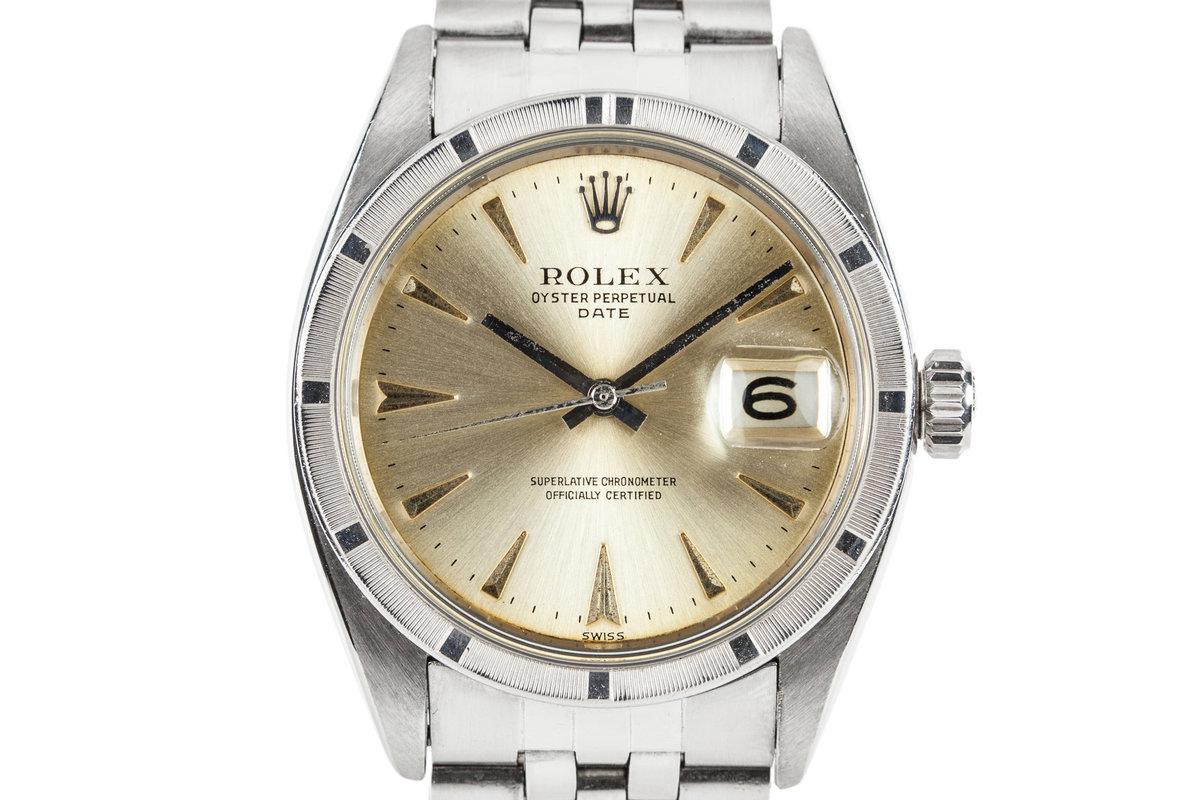 1961 Rolex Date 1501 with Service Papers photo, #0