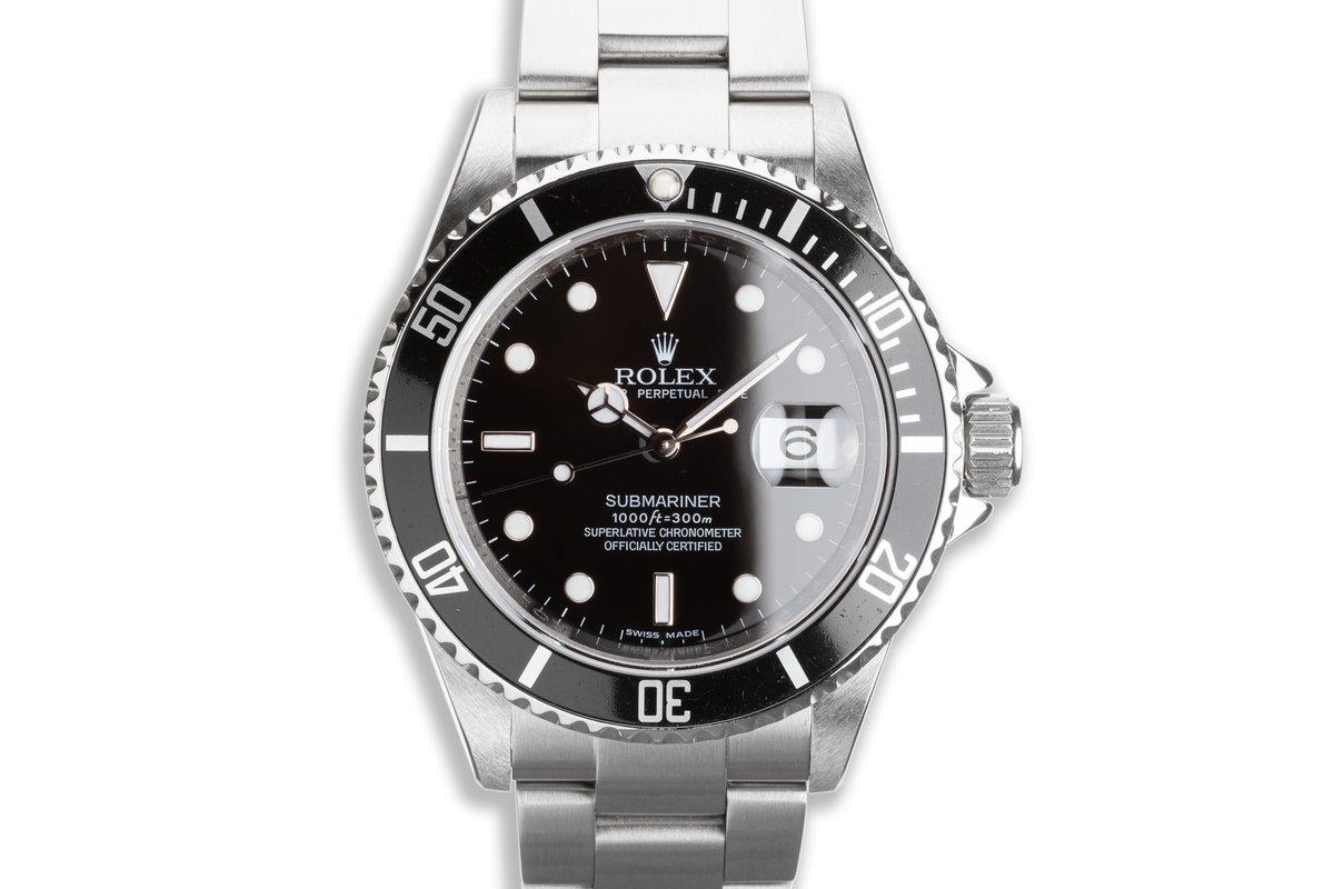 2008 Rolex Submariner 16610 photo, #0