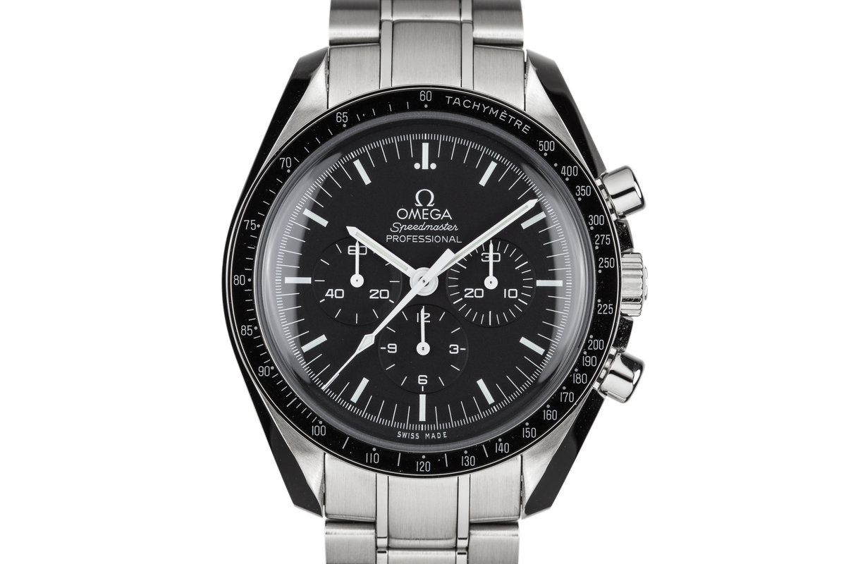 2017 Omega Speedmaster Professional 311.30.42.30.01.005 with Box and Papers photo, #0