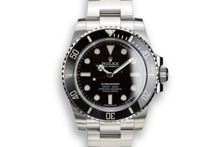 2019 Rolex Submariner 114060 with Box and Papers photo