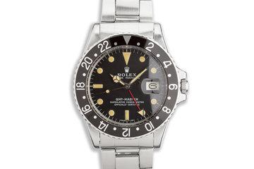1971 Vintage Rolex GMT-Master 1675 photo