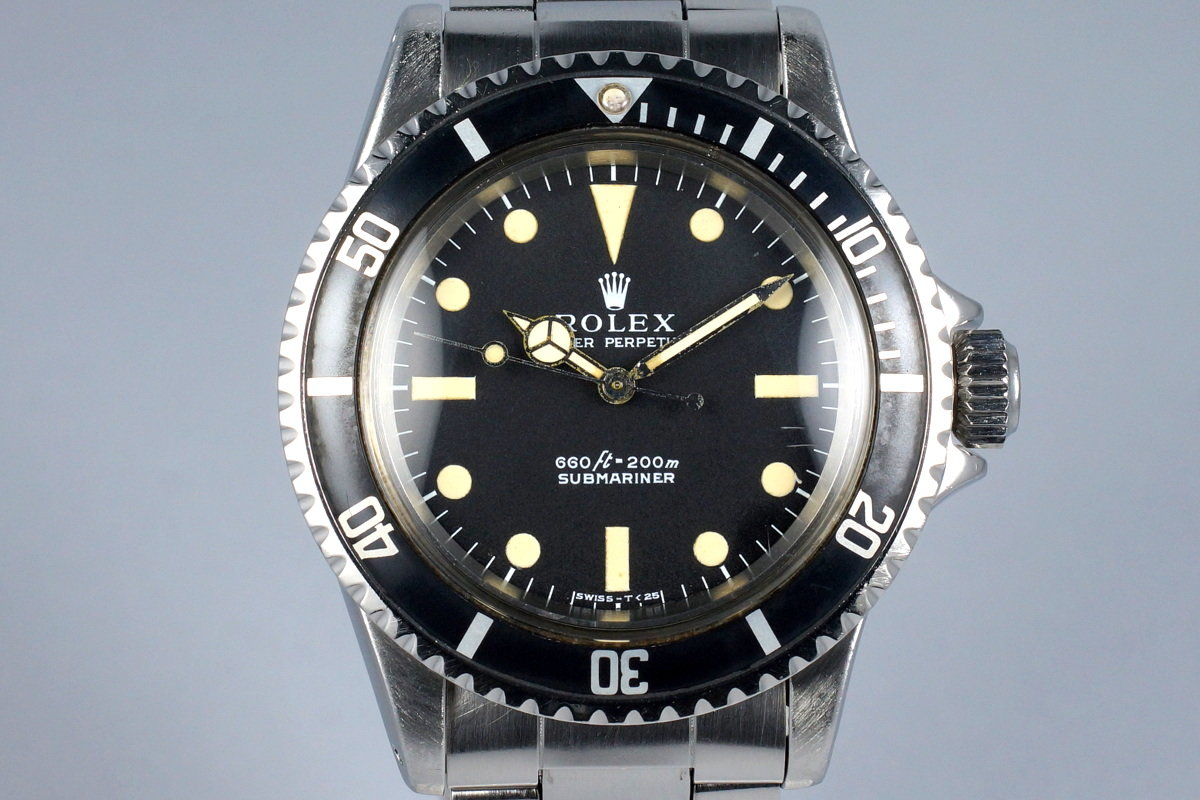 a1f3feaf2558 HQ Milton - 1970 Vintage Rolex Submariner 5513 Serif Dial