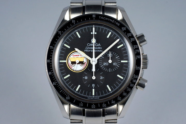 1997 Omega Speedmaster Gemini V 3597.03 Missions Series photo