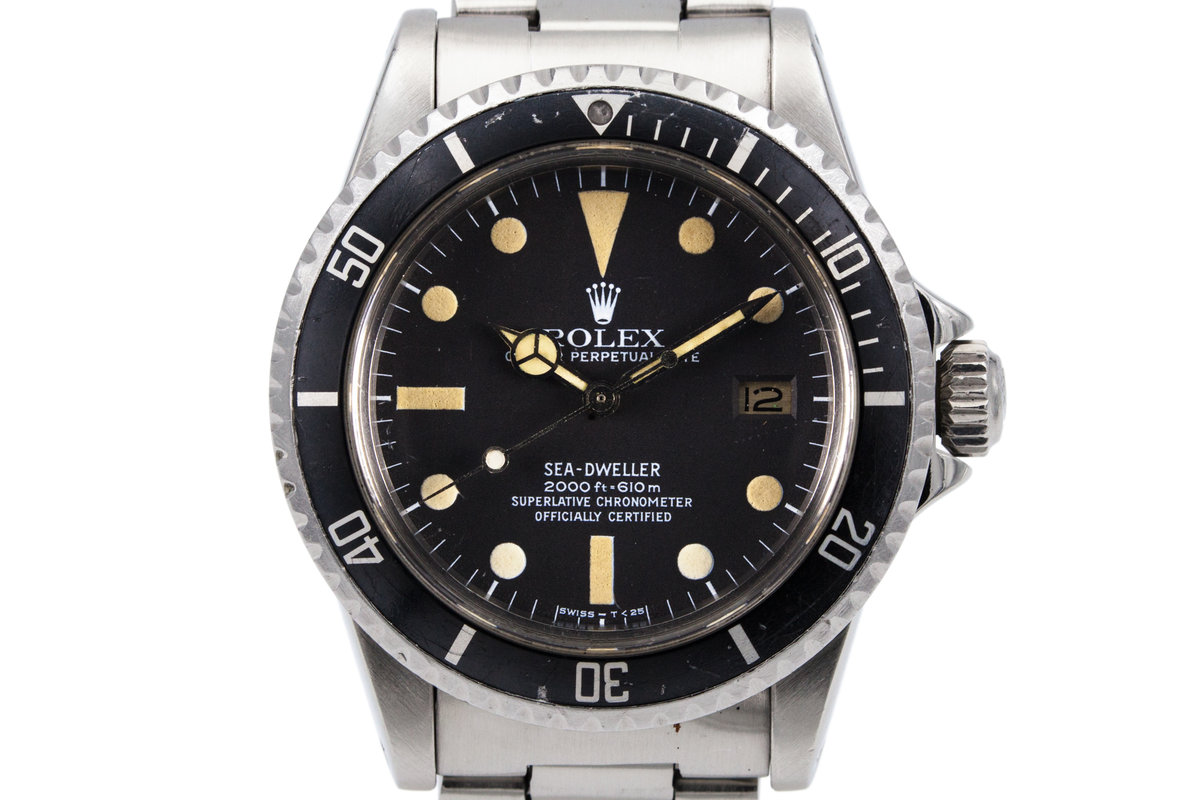 1978 Rolex Sea Dweller 1665 Mark I Dial photo, #0