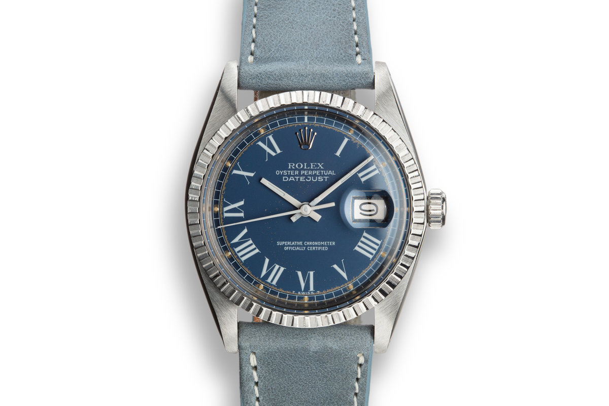 "1978 Rolex DateJust 1603 with ""Swirling Leaf"" Dial photo, #0"