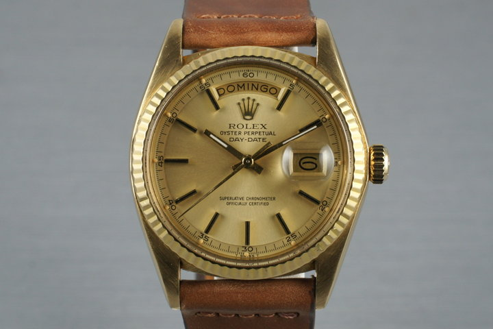 1975 Rolex YG Day-Date 1803 photo