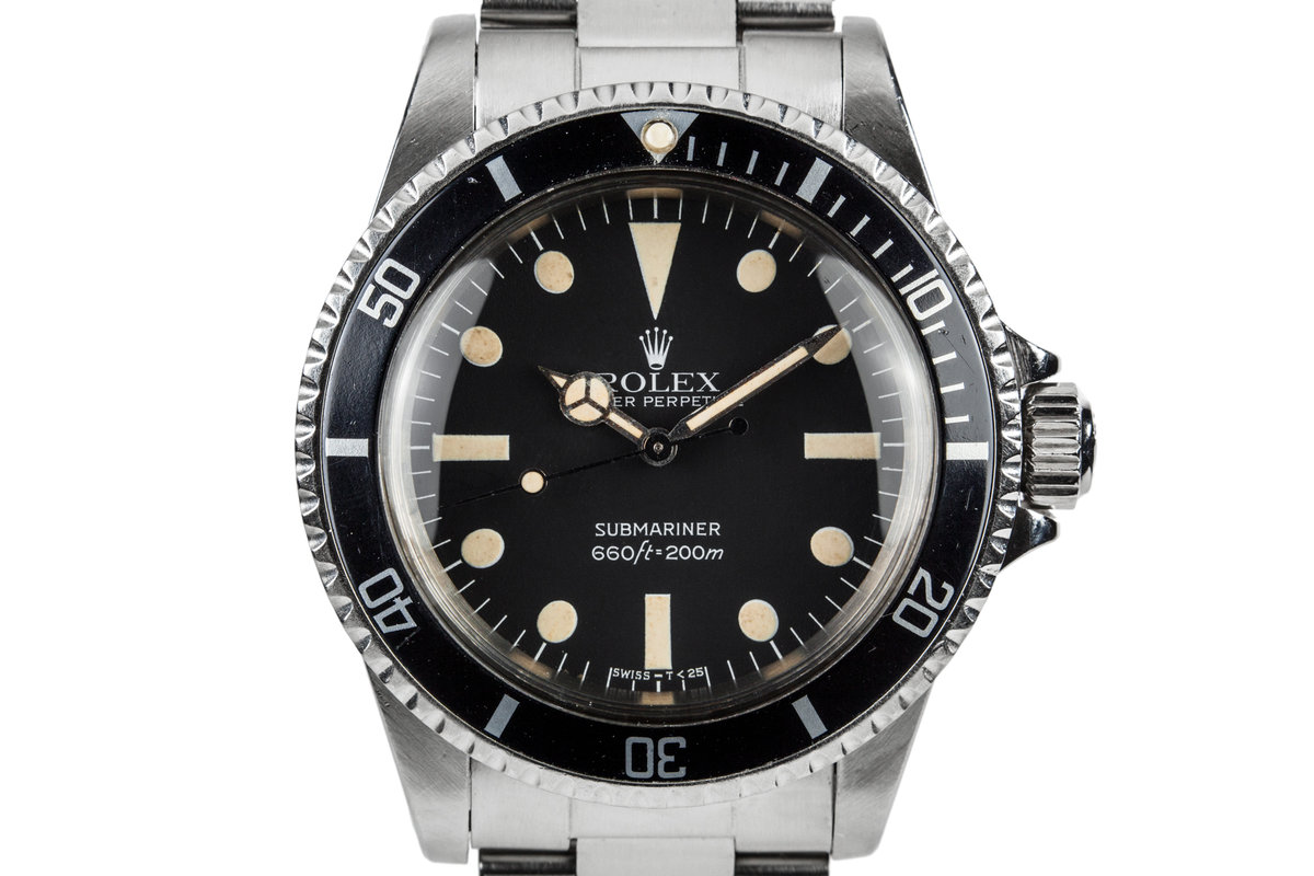1981 Rolex Submariner 5513 with Maxi IV Dial photo, #0