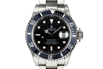 2009 Rolex Submariner 16610 photo