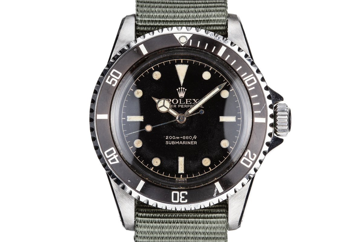 1961 Rolex Submariner 5512 with Gilt Chapter Ring Dial photo, #0