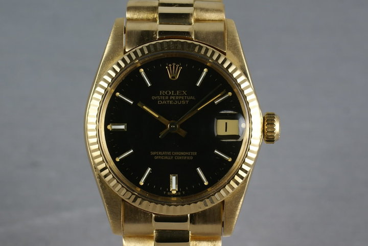 Rolex Midsize President 6827 with box and papers photo