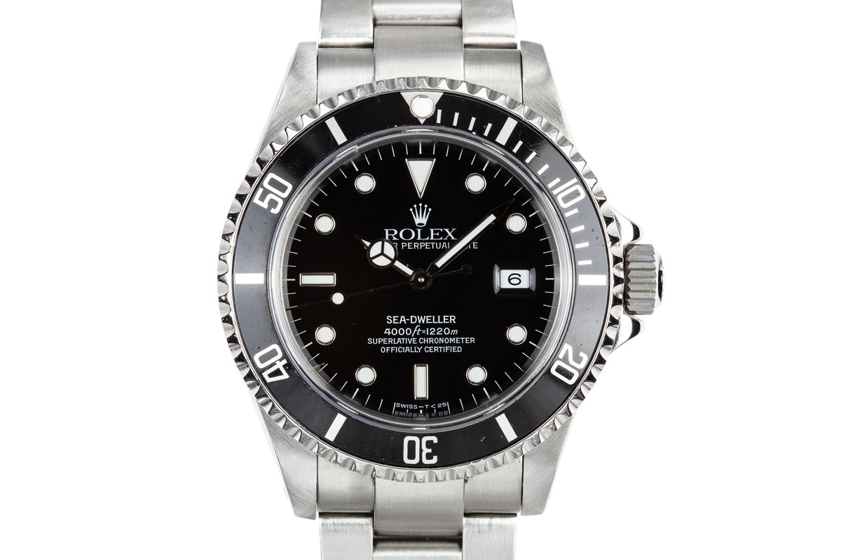 1993 Rolex Sea-Dweller 16600 with Box and Papers photo, #0