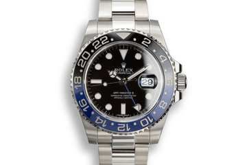 """2017 Rolex GMT-Master II 116710 BLNR """"Batman"""" with Box and Papers photo"""