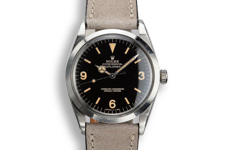 1966 Rolex Explorer 1016 Gilt Dial photo