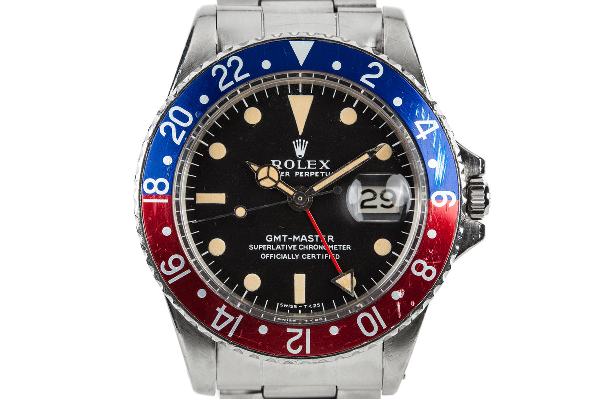 1968 Rolex GMT-Master 1675 with Double Punched Papers photo, #0