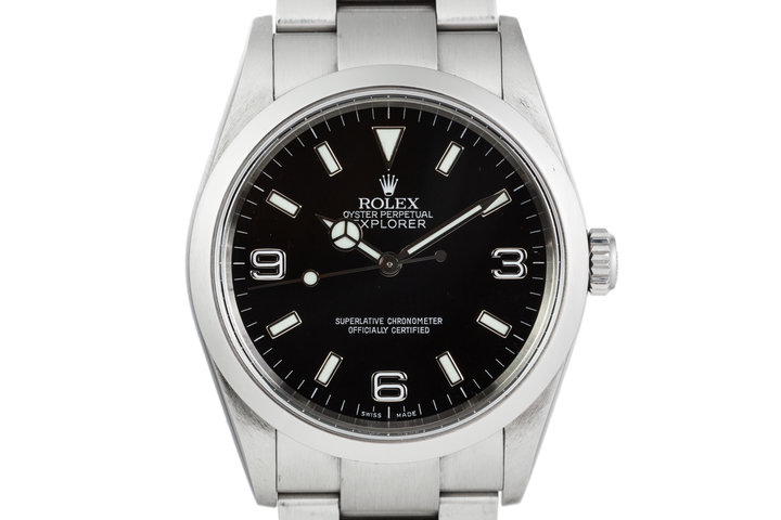 2003 Rolex Explorer 114270 photo