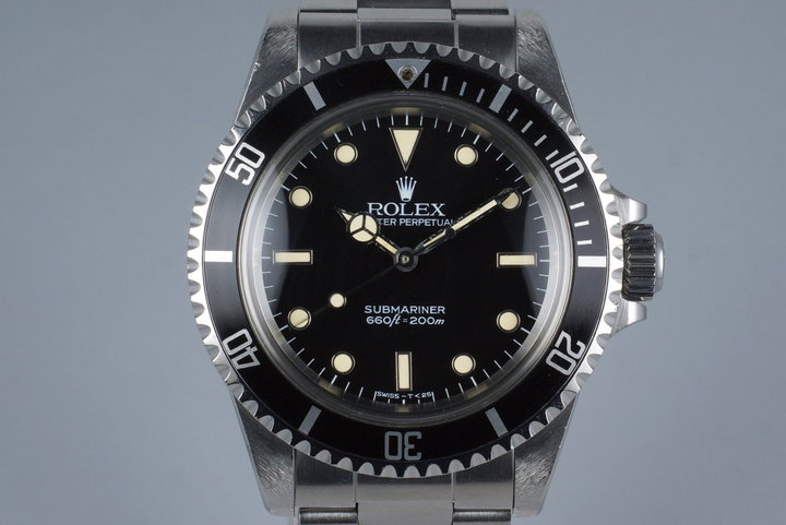 1985 Rolex Submariner 5513 Spider Dial photo