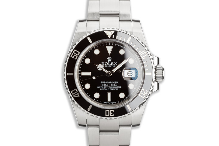 2010 Rolex Ceramic Submariner 116610LN photo