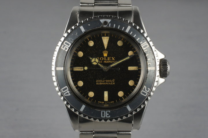 1964 Rolex Submariner 5513 Gilt Dial photo