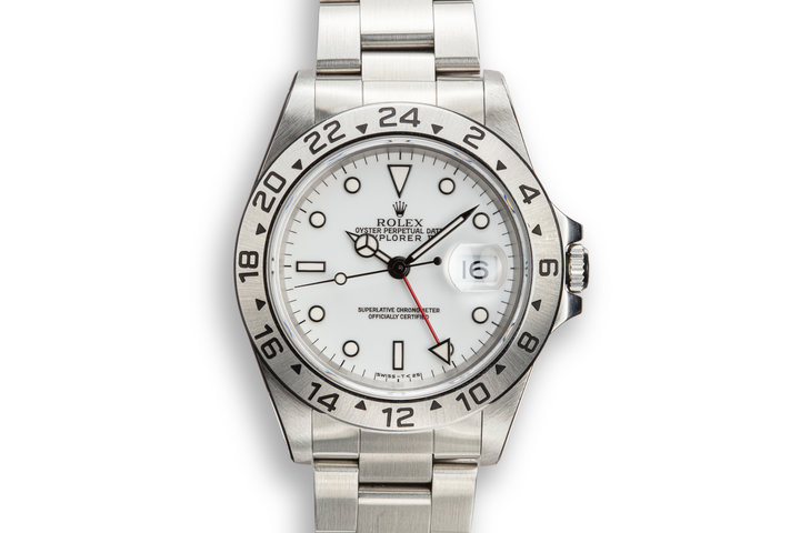 1997 Rolex Explorer II 16570 White Dial photo