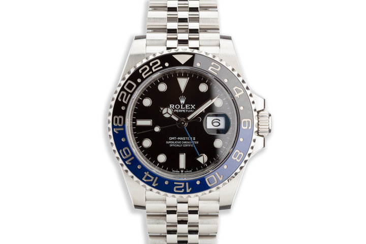 "2019 Rolex GMT-Master II 126710BLNR ""Batman"" with Box and Card photo"