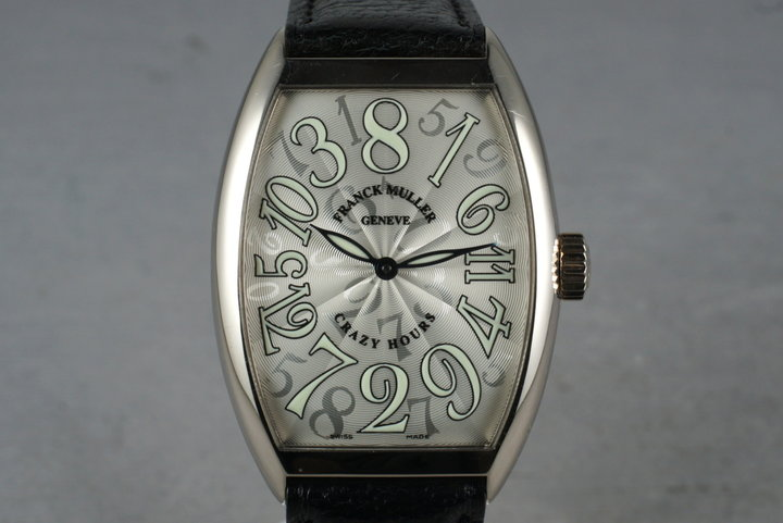 Franck Muller Crazy Hours White Gold 7851CH photo