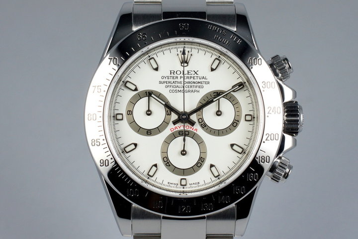 2001 Rolex Daytona 116520 Cream Dial with Box and Papers photo