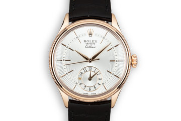 2015 Rolex 18K Rose Gold Cellini 50525 with Box and Papers photo