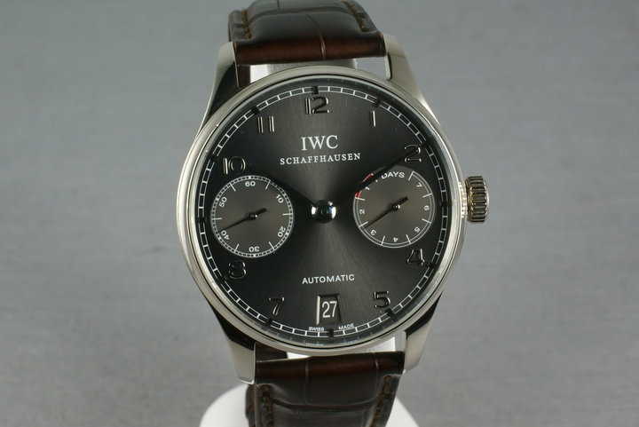 IWC Watches - Portuguese Automatic White Gold 7 day power reserve photo