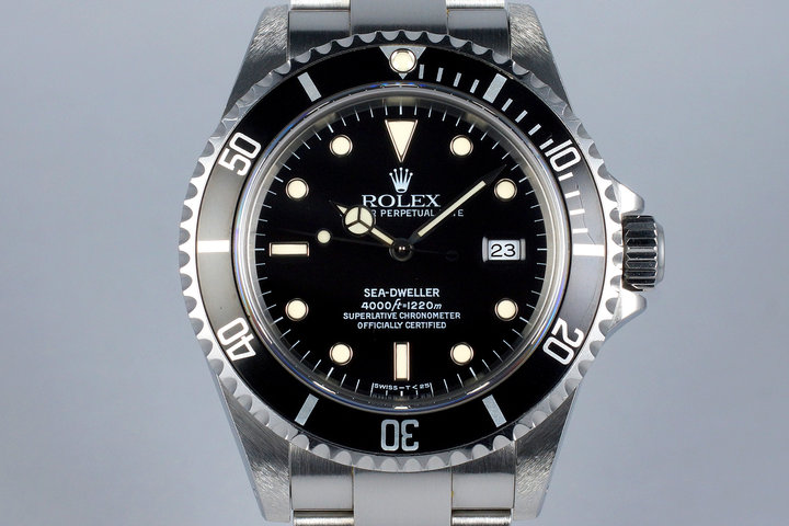 1998 Rolex Sea Dweller 16600 photo