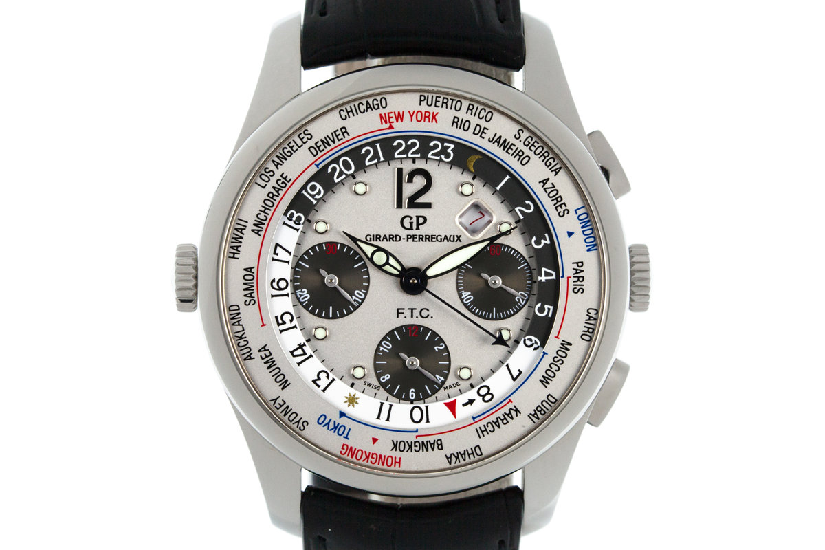 """Girard-Perregaux """"World Timer"""" with Box and Papers photo, #0"""