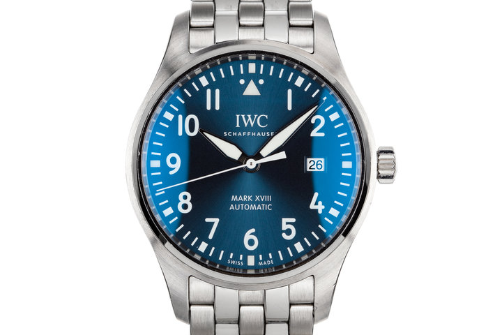 "IWC Pilots Watch MK XVIII ""Le Petit Prince"" Edition IW327004 with Box and Papers photo"